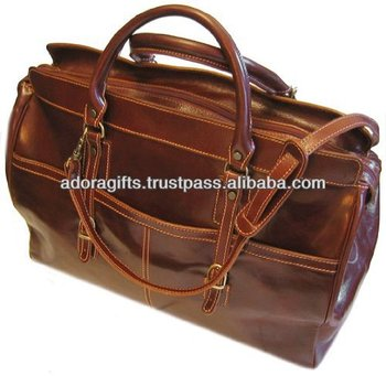 Best Ing Duffel Bag Quality Leather Travel Bags Men Luxury For
