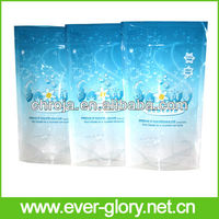 Factory Supply Stand Up Printed Resealable Popcorn Plastic Bag