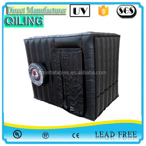 2017 qiling Good price sewed cheap photo booth replica