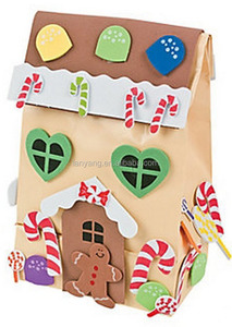 Gingerbread House Paper Gift Bag Craft Kit /Christmas/Winter