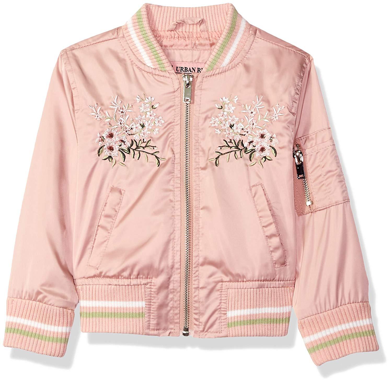 Urban Republic Girls/' Ur Polyfil Jacket Silver Toddler Girls 3T New