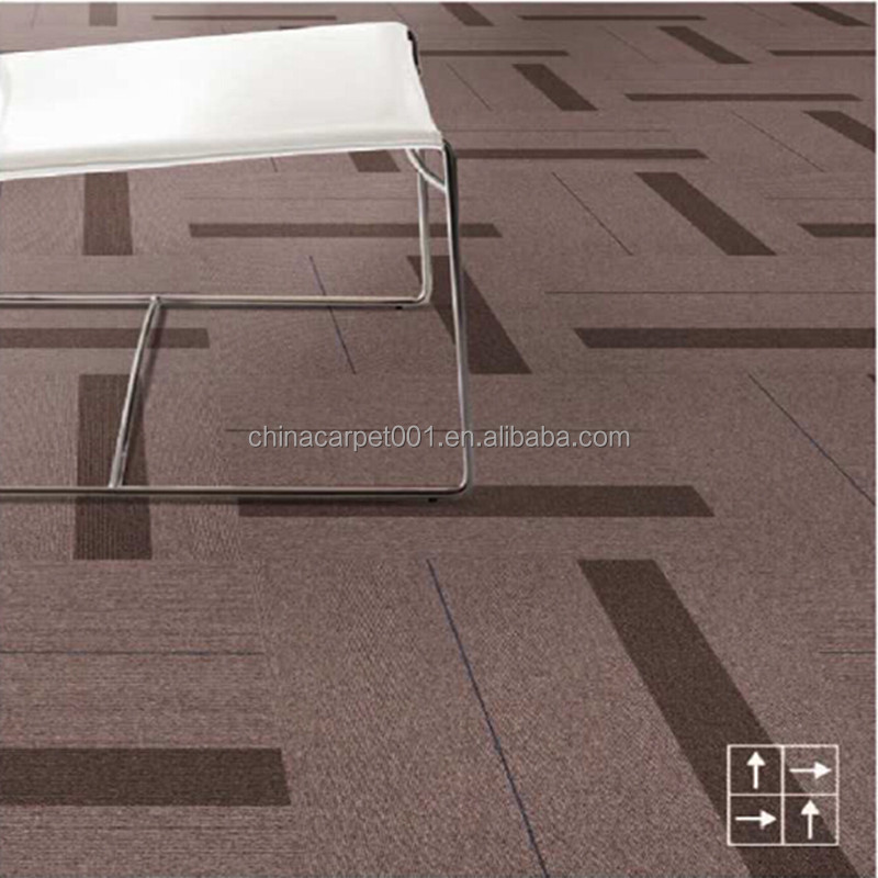 Hotel commerical carpet tile manufacturer in carpet (Rhine river Series)