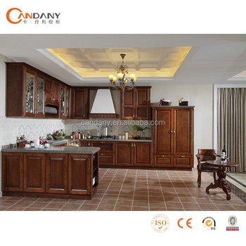 Hot Sale Classical Solid Wood Kitchen Cabinets,kitchen Kabinet