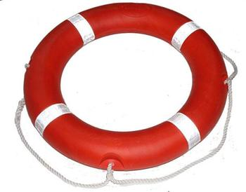Marine SOLAS CCS EC approved solid foam material emergency rescue life buoy
