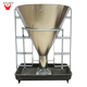 75kg Galvanised dry wet automatic feeder for pigs pig feeding equipments automatic pig feeder