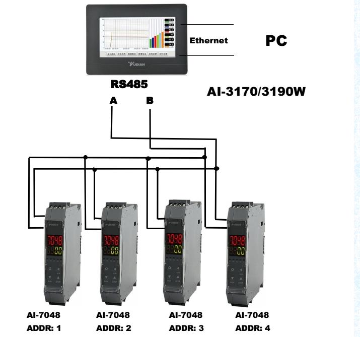 industrial usage intelligent rs232 data logger
