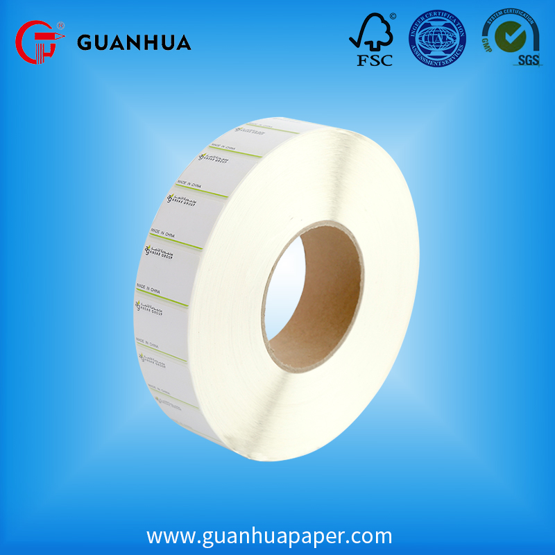 Made in China self adhesive offset sticker blank label
