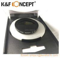 K&F Concept IR Filter 680/720/760/850/950 NM X-Ray Infrared Infra-red IR filter Optical Glass For Digital camera
