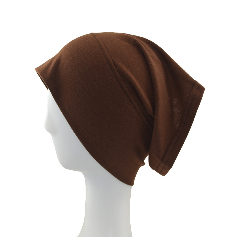 11colors Available Hijab Bonnet Cap Rhinestone Hat Band Muslim Womens Hats Lace Bonnets Under Scarf Hijab Excellent In Quality