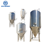 500 liter beer fermenter tank glycol jacket conical fermenter