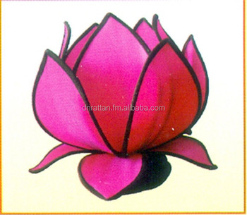 Silk Lotus Lampshade193 Buy Lampshade Wire Frame Product On