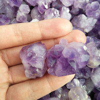 Wholesale Natural Amethyst Quartz Specimens Raw Quartz Crystal Price Amethyst Rock Crystal Tumbled