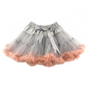Fluffy Pettiskirts Girl's Tutu Skirts Pettiskirt Chiffon Wholesale