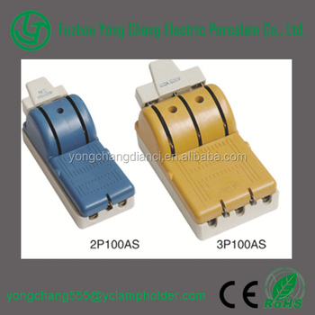 3p100as Electrical Switches 3poles Ceramic Knife Switch - Buy ...