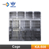 KA-508 Stainless Steel Dog Cages Modular Pet Dog Cage Wholesale Kennels