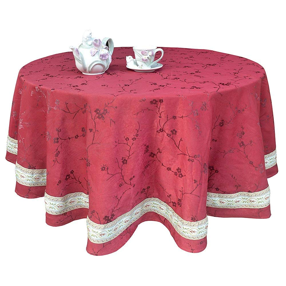 Lace Tablecloths Oval 300x300.jpg Get Quotations · R.LANG Vintage Design Tablecloth Oval 60 x 84-inch Luxury  Jacquard Tablecloth Burgundy