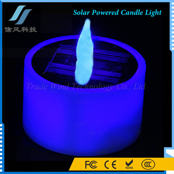 Solar Powered Candle Light LED for Party Decor Romantic Gift
