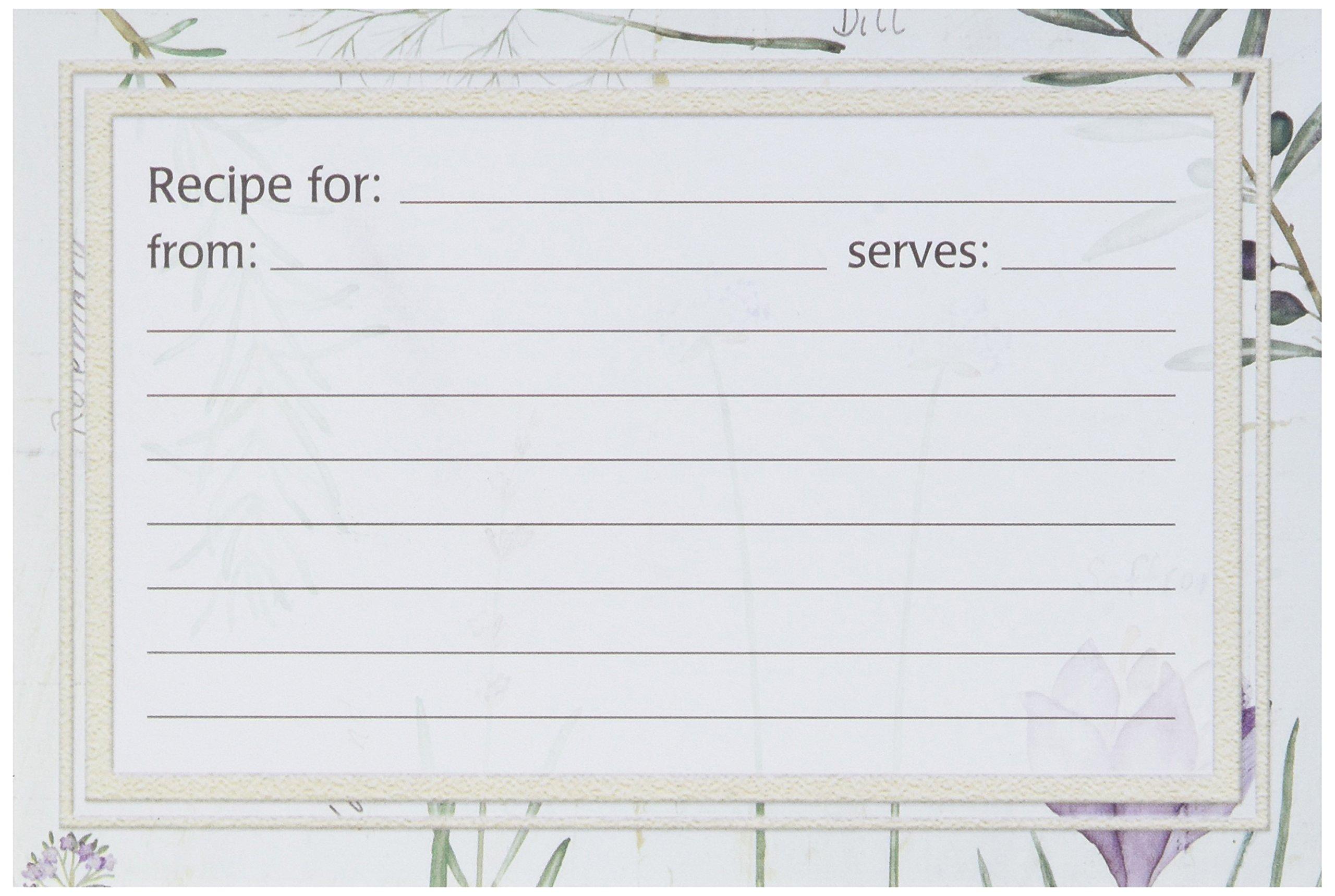 Meadowsweet Kitchens Recipe Card Set - Botanical Treasures