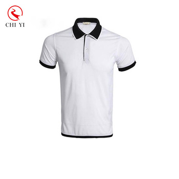 black polo shirt uniform