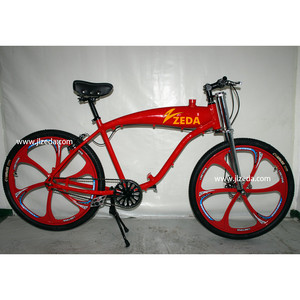 Kit de motor de bicicleta 2 stroke motorized bike with gas tank frame