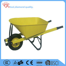 7CBF 16 inch PU wheel heavy duty construction wheelbarrow