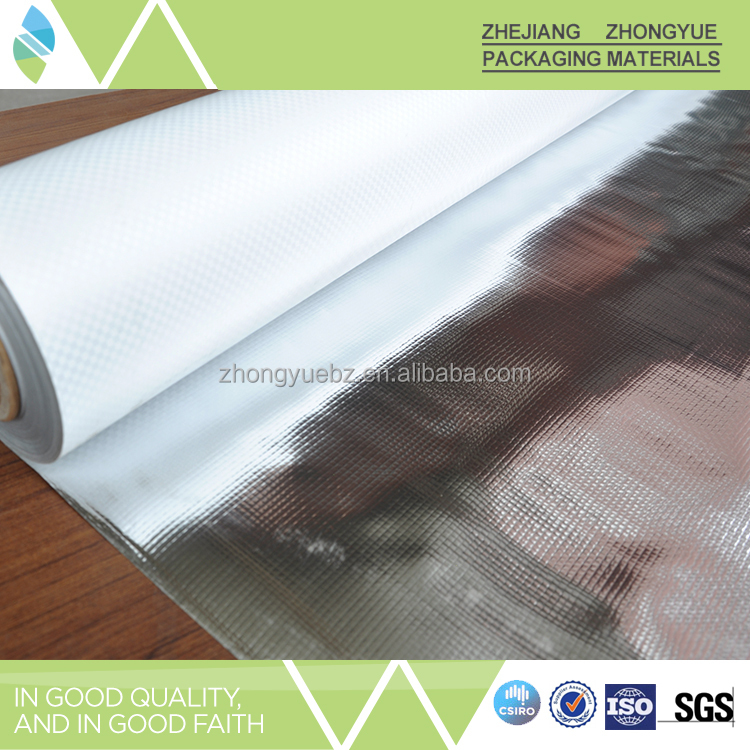 Alibaba China Supplier Aluminium Foil Coated Thermal Insulation Material Rolls