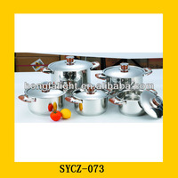 10pcs Safety Cooking Industrial Size Cooking Pots
