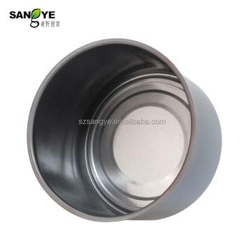Empty sardine aluminium silver can stocks made in china Empty sardine cans