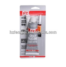 Acetic RTV silicone sealant packed with super glue