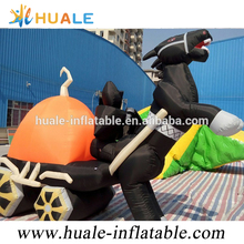 Customized Halloween Inflatable, Giant Ghost Inflatable Halloween Haunted Car