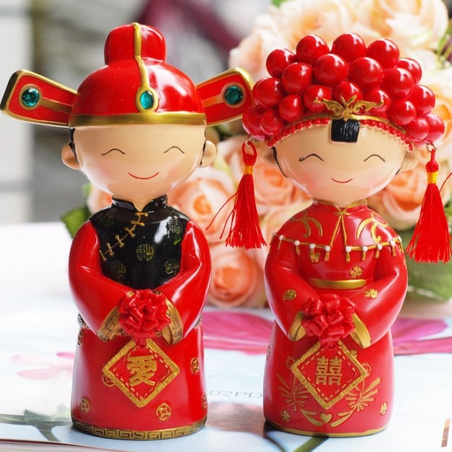 Traditional Chinese Wedding Gifts: Chinese Wedding Figurines Promotion-Shop For Promotional