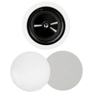 """Bic America Msr-Pro6 125 W Rms Speaker - 2-Way - White - 8 Ohm """"Product Category: Speakers/Component Speakers"""""""
