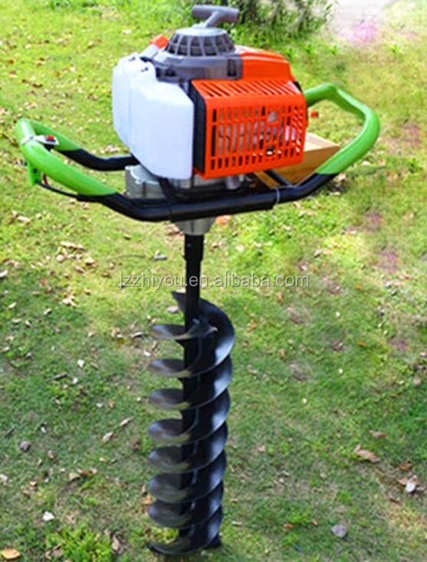 manual post hole auger rona