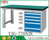 TJG-77053N Taiwan Best Workbench Plans For Garage With Rubber Work Table Top