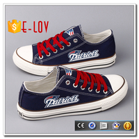 Brand rubber sole oxford sneakers material canvas shoe T-D827L-R