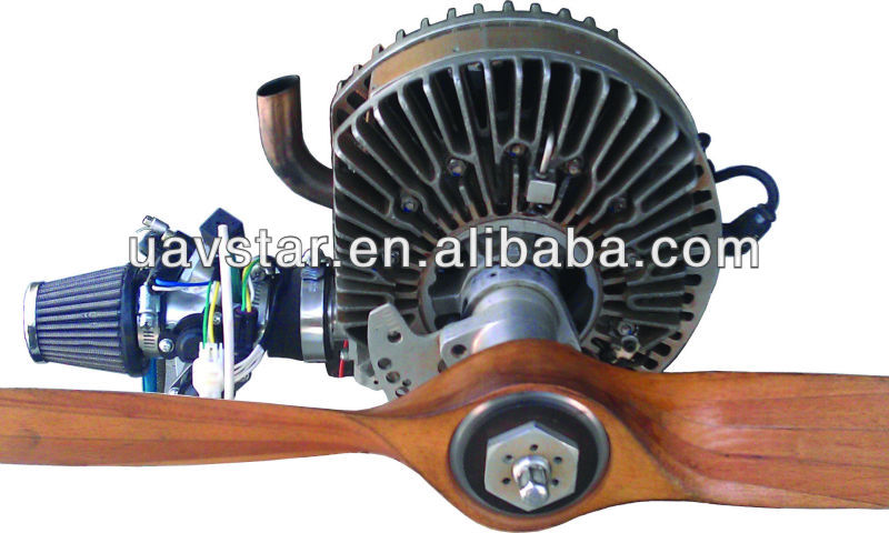 Uav Single Rotor Engine - Mdr-208 Has Highest Power To Weight ...