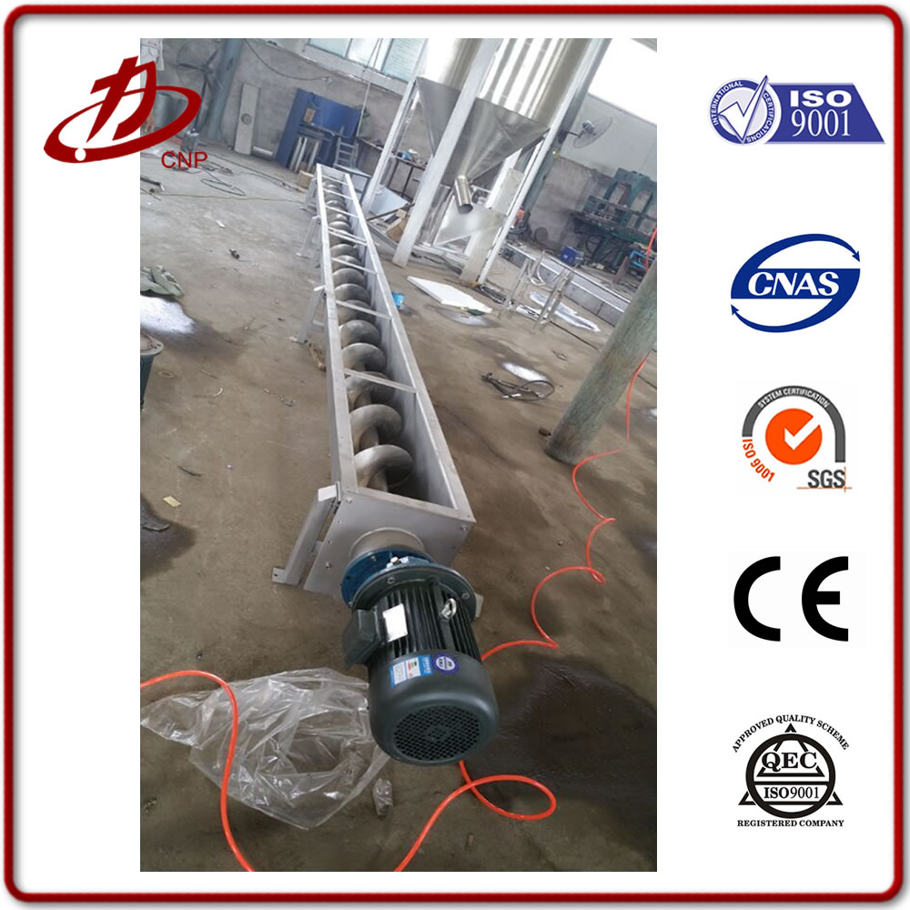New design stainless steel type food powder screw conveyor