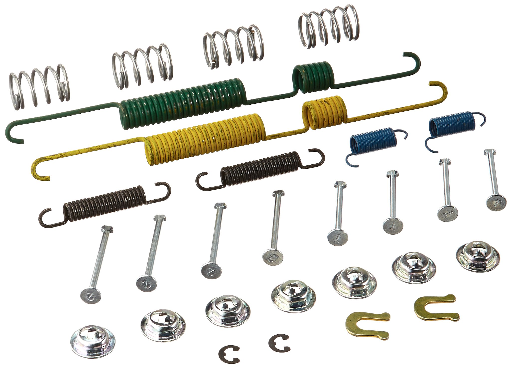 Carlson Quality Brake Parts H7047 Brake Combination Kit