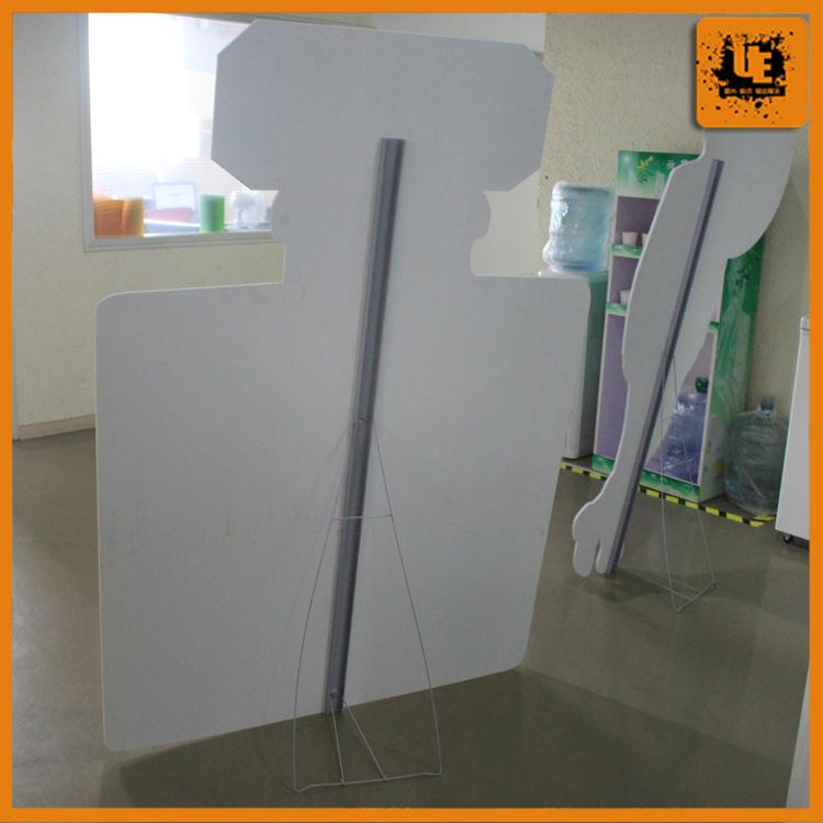 Promotion outdoor poster board bleach board printing
