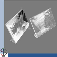 L Shape Acrylic Photo Frame