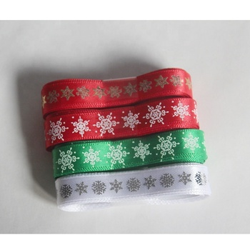 Wholesale printed grosgrain celebrate ribbon satin printed ribbon silk print ribbon for gift