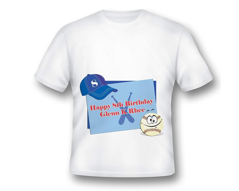 Football Birthday T Shirt Soccer Tee For Boys Custom