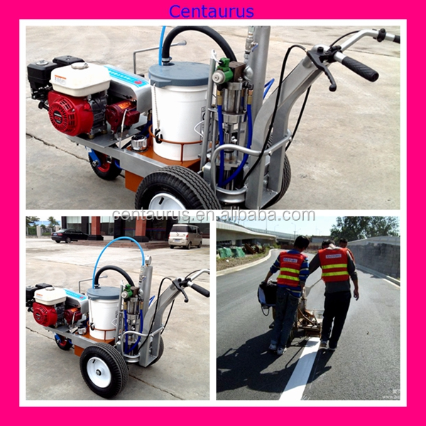 Best quality thermoplastic road marking paint machine with lowest price
