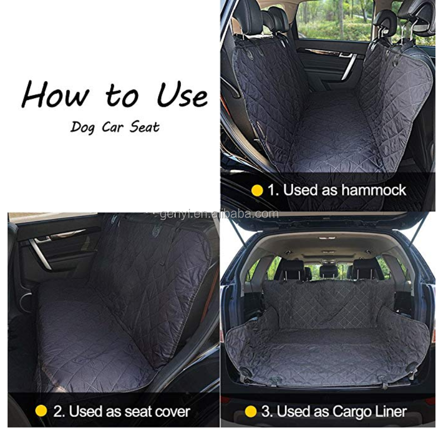 Best Seller Non-slip Oxford Dog Car Seat Covers Seat Protector For Dog