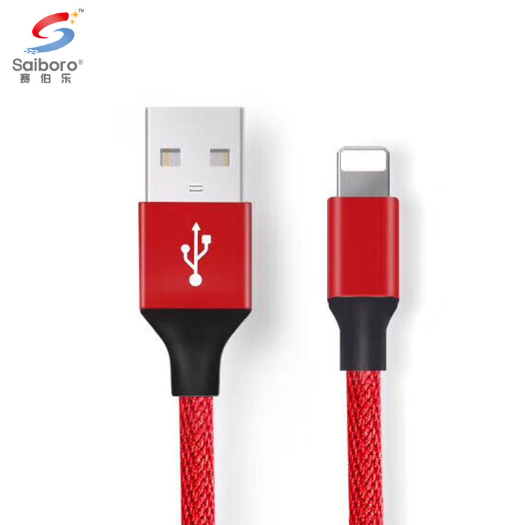 3 meter nylon braided cable usb for iphone X 10 8 7 6 5 charging charger usb cable