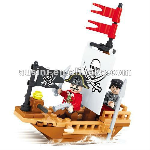 Pirate diy education toys for kids