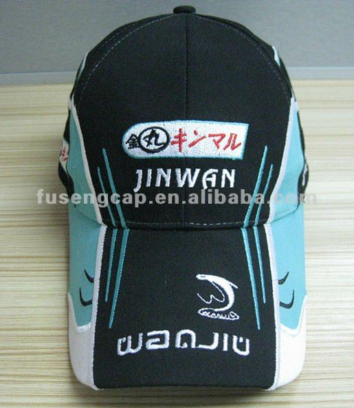 high quality flex fix spandex hat embroidery sports golf cap