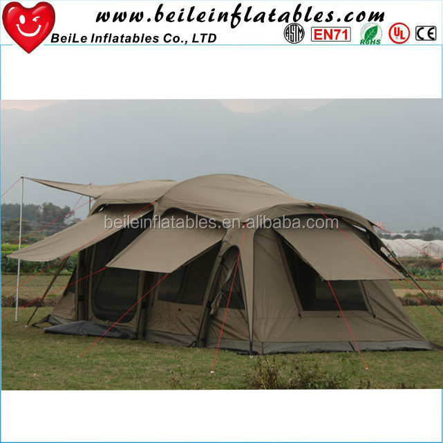 Green large inflatable tent for sale camping inflatable tent house