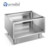 Commercial 7x Series Stainless Steel 4 Burner Hot Plate Cooker With Open Cabinet