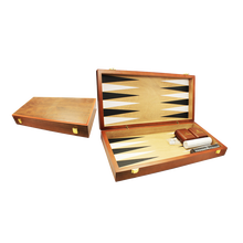 Matte Lak Custom Hout Spel Backgammon <span class=keywords><strong>Board</strong></span> <span class=keywords><strong>Game</strong></span>, Houten Backgammon Spel Doos, Houten Backgammon Set Met Checkers